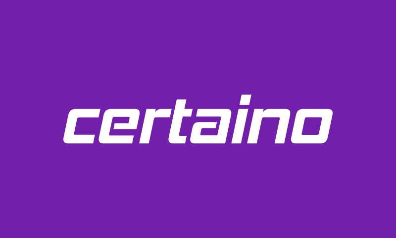 Certaino - Business brand name for sale
