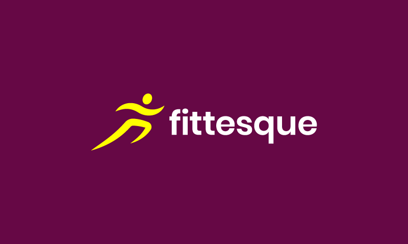 Fittesque - Exercise startup name for sale