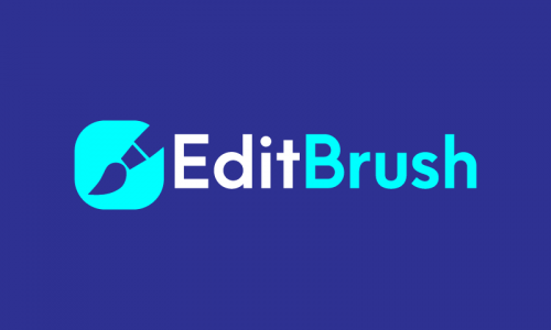 Editbrush - E-commerce startup name for sale