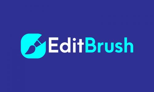 Editbrush - E-commerce startup name for sale