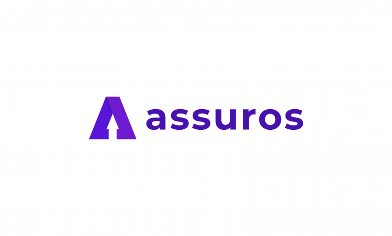 ASSUROS logo - Perfect name for insurance company