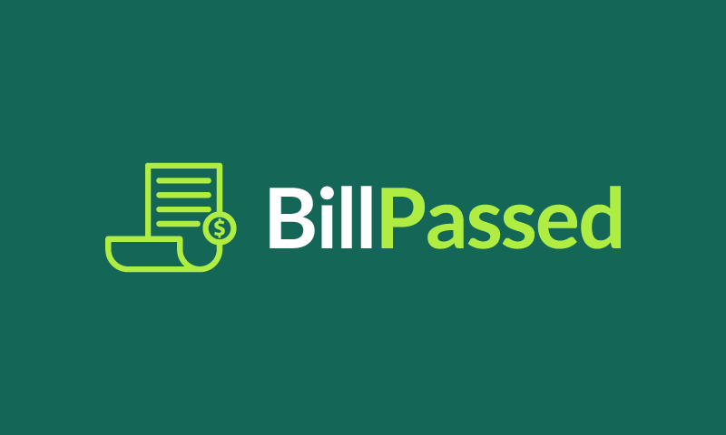 Billpassed - Business brand name for sale