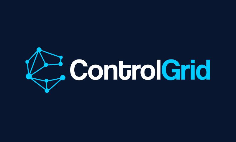 Controlgrid - E-commerce startup name for sale