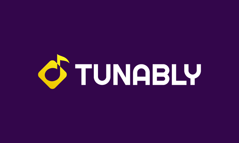 Tunably - Audio startup name for sale