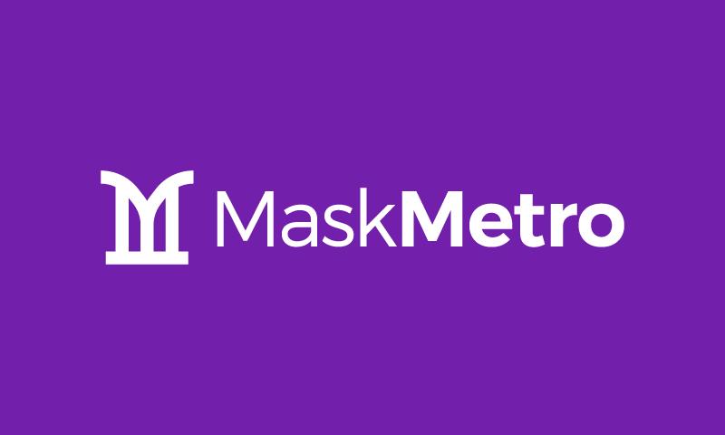 Maskmetro - Health company name for sale