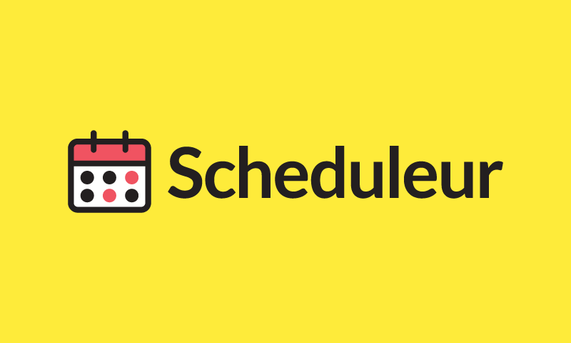 Scheduleur - Technology company name for sale