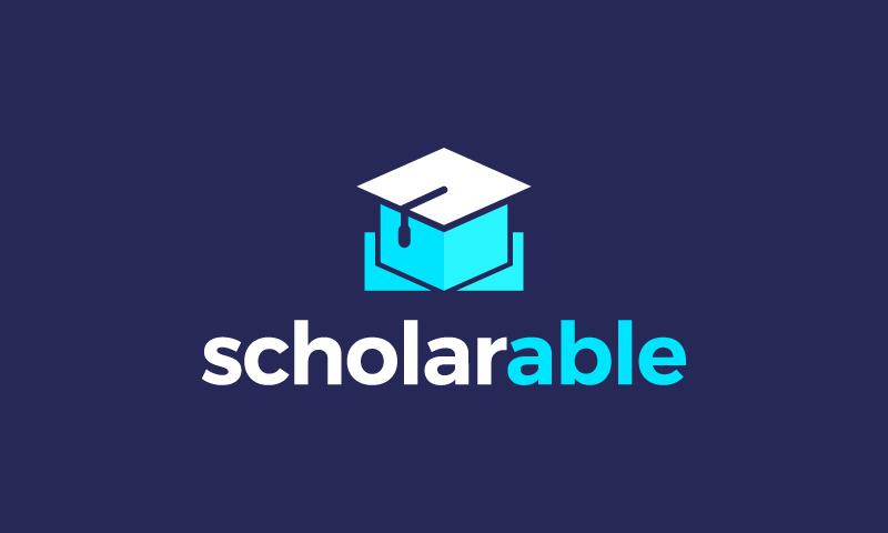 Scholarable