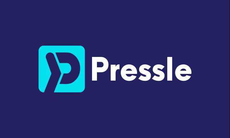 Pressle - Business brand name for sale