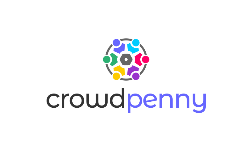 Crowdpenny - Fundraising company name for sale