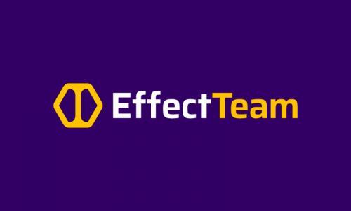 Effectteam - Modern startup name for sale