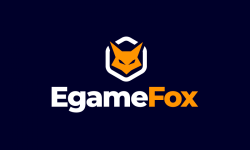 Egamefox - Online games business name for sale