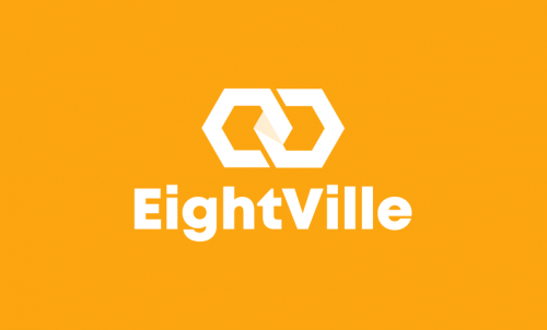 Eightville - Design company name for sale