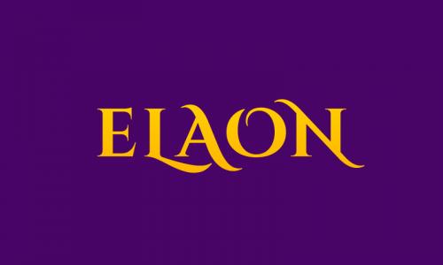 Elaon - Retail startup name for sale