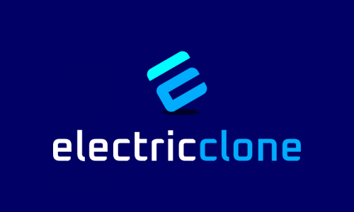 Electricclone - Biotechnology startup name for sale