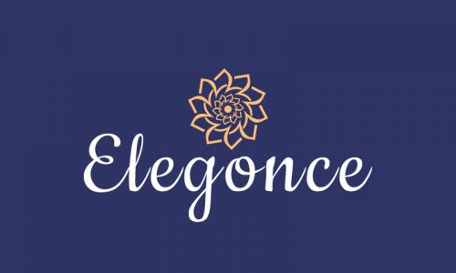 Elegonce - E-commerce company name for sale