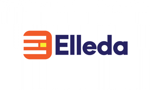Elleda - Retail company name for sale