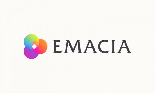 Emacia - Retail startup name for sale