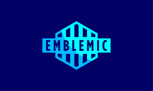 Emblemic - Media company name for sale