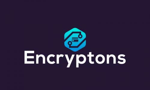 Encryptons - Finance business name for sale