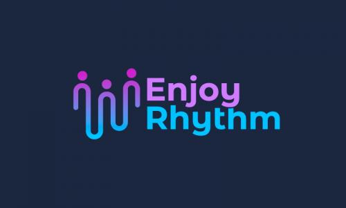 Enjoyrhythm - Music startup name for sale