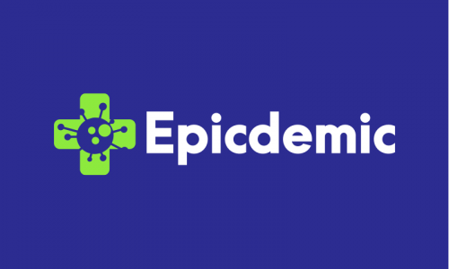 Epicdemic - Healthcare startup name for sale