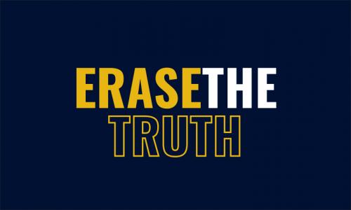 Erasethetruth - E-commerce company name for sale
