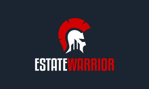 Estatewarrior - Real estate startup name for sale
