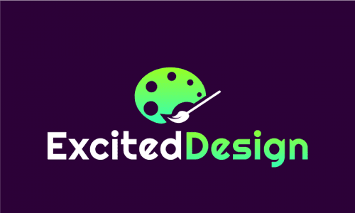 Exciteddesign - Audio business name for sale
