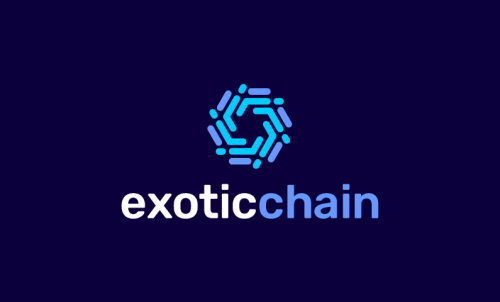 Exoticchain - Cryptocurrency domain name for sale