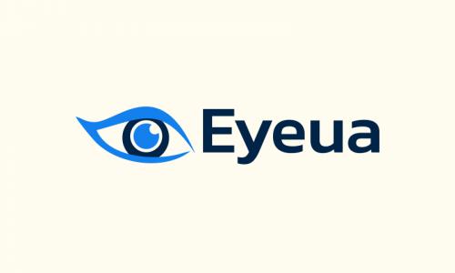 Eyeua - Healthcare domain name for sale