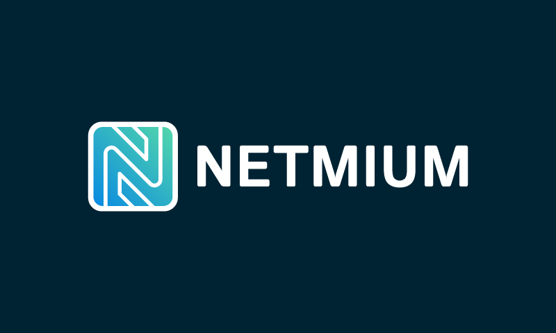 Netmium - Design startup name for sale