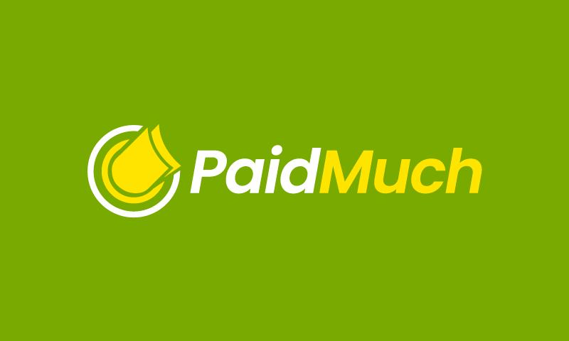 PaidMuch logo