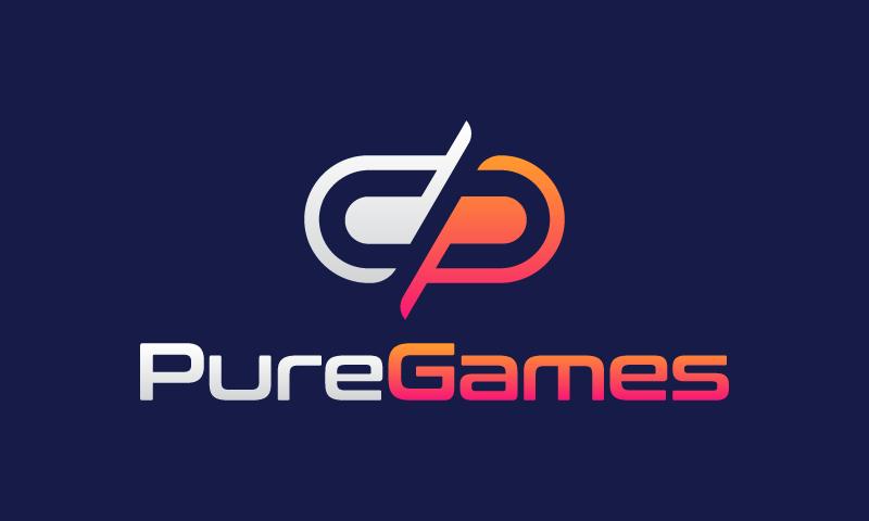 Puregames - Video games domain name for sale