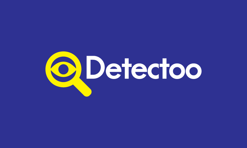 Detectoo - AI startup name for sale
