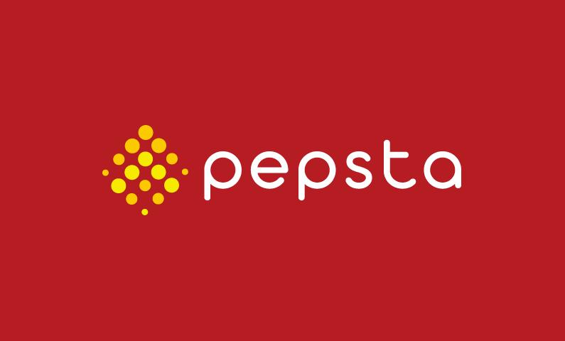pepsta logo - High energy domain