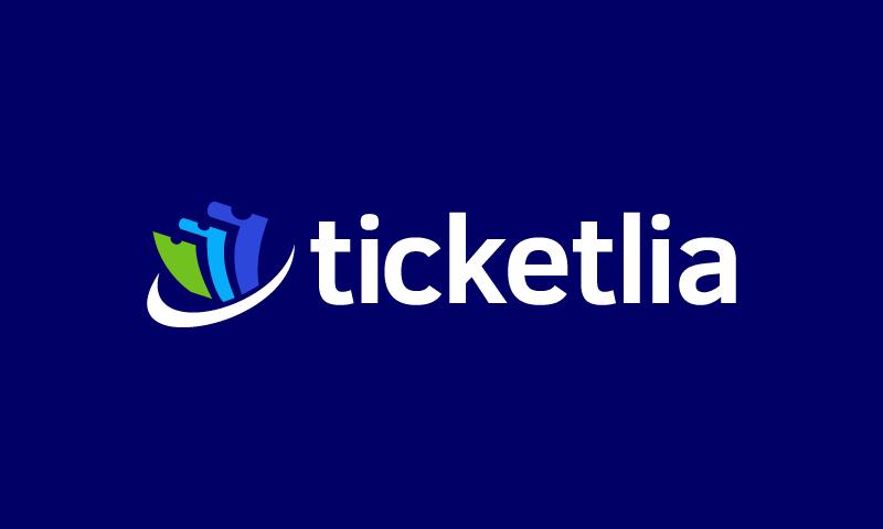 Ticketlia - Events domain name for sale