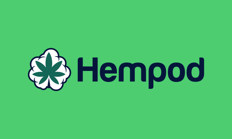 Hempod - Cannabis startup name for sale
