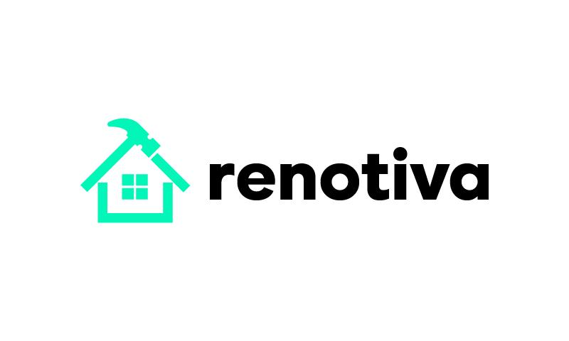 Renotiva - Real estate startup name for sale