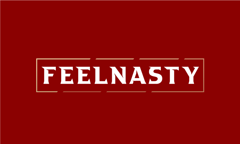 Feelnasty - Fashion business name for sale