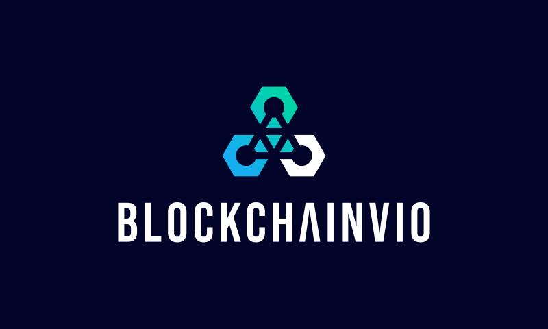 Blockchainvio - Cryptocurrency company name for sale