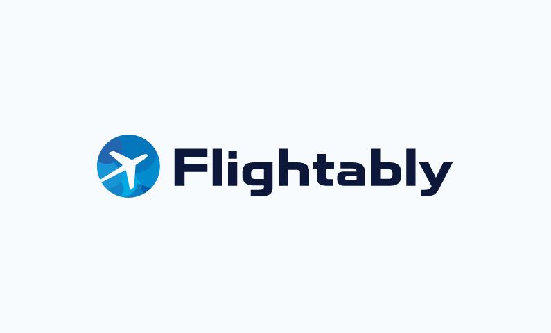 Flightably logo - Let your business take off