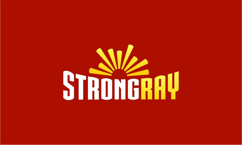 StrongRay logo