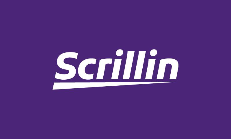Scrillin - Audio domain name for sale