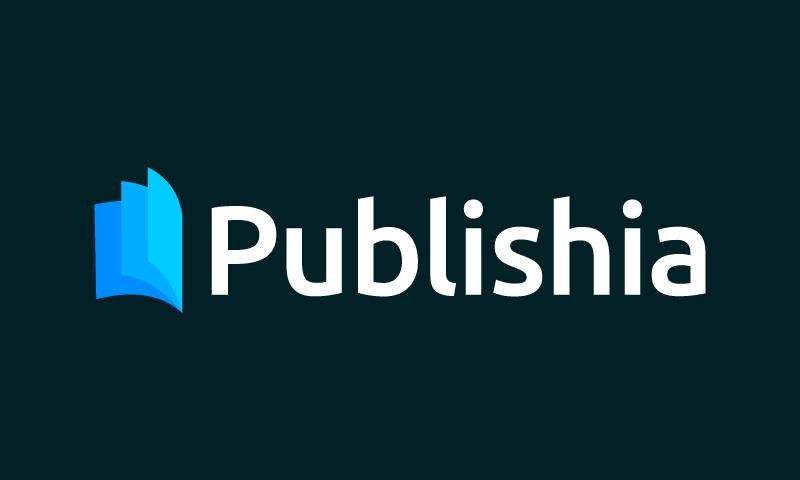 Publishia - Modern brand name for sale