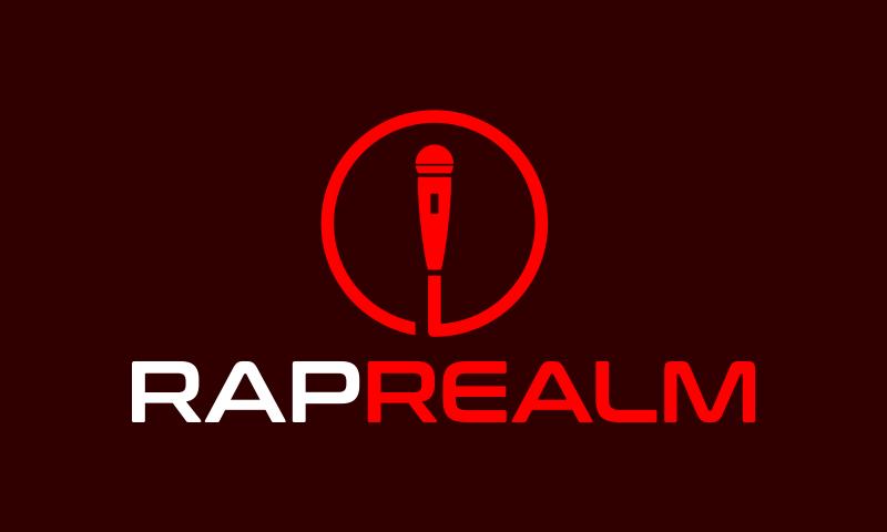 Raprealm - Music domain name for sale