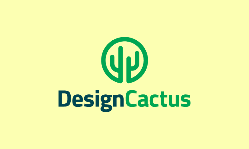 Designcactus - Design company name for sale