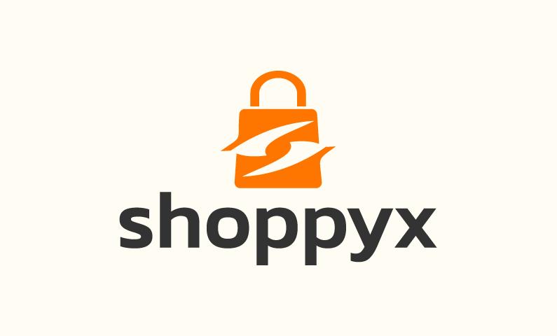 Shoppyx - E-commerce company name for sale