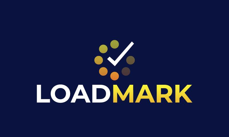 Loadmark - Analytics startup name for sale