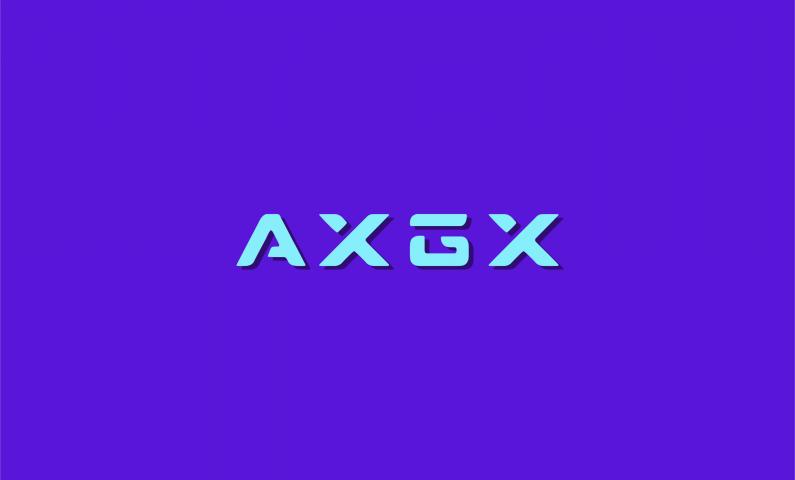 AXGX logo - Versatile abstract name
