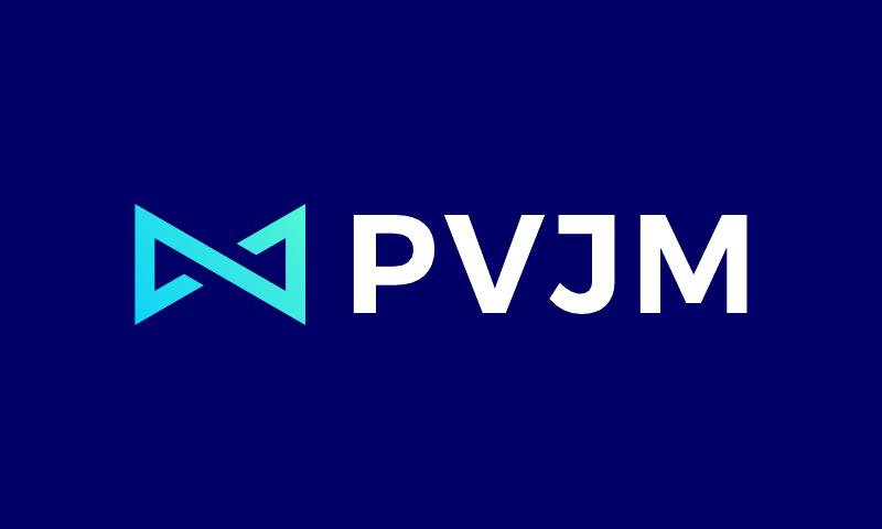 Pvjm - Potential startup name for sale